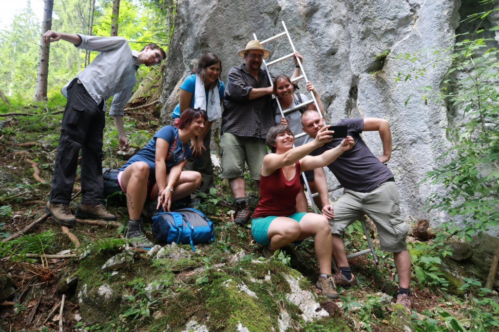 19.-24. August 2018 – Workshop Alpine Land Snails in Johnsbach